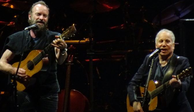Paul Simon and Sting: These are the days of miracle and wonder