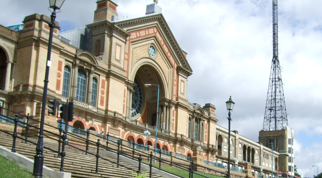 Alexandra Palace (image: www.alexandrapalace.co.uk)