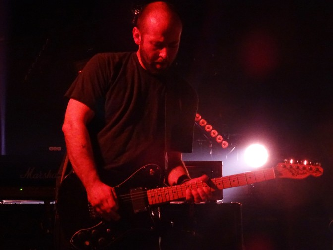 Mogwai guitarist John Cummings at The Roundhouse