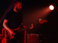 Mogwai bass player Dominic Aitchison at The Roundhouse