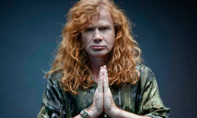 Megadeth marching to Wembley