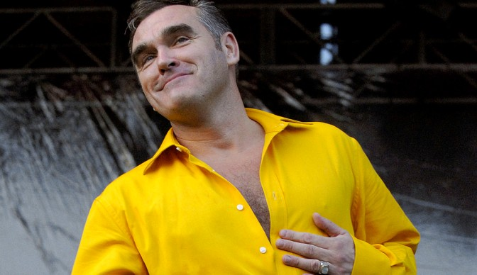 Morrissey brings 'World Peace' to London