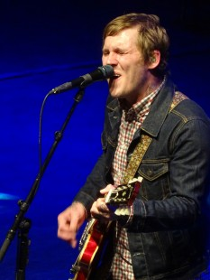 Brian Fallon of The Gaslight Anthem at O2 Shepherd's Bush Empire