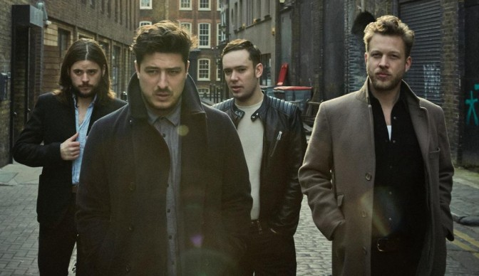 Mumford & Sons getting Wild at London's O2 Arena