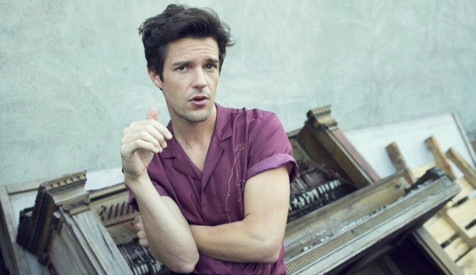 Brandon Flowers popping up in London
