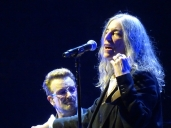 U2 at The O2: Bono and Patti Smith
