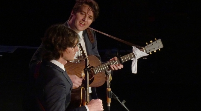 Milk Carton Kids: You took the words right outta my mouth