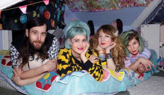 Tacocat make up for 'Lost Time' in London