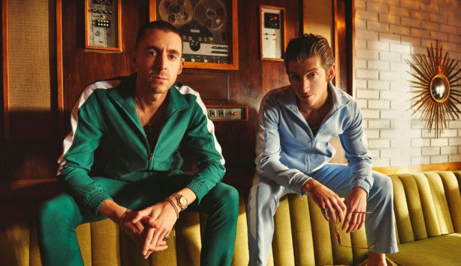 The Last Shadow Puppets share 'Bad Habits' with Alexandra Palace
