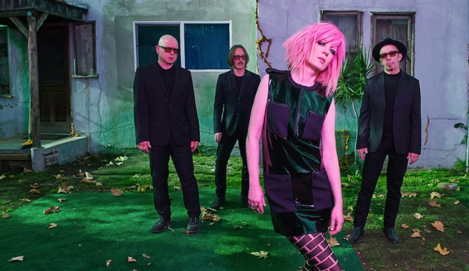 Garbage uncage 'Strange Little Birds' in Troxy