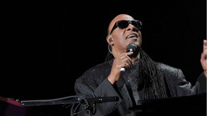 Stevie Wonder performing 'Songs In The Key Of Life' in London