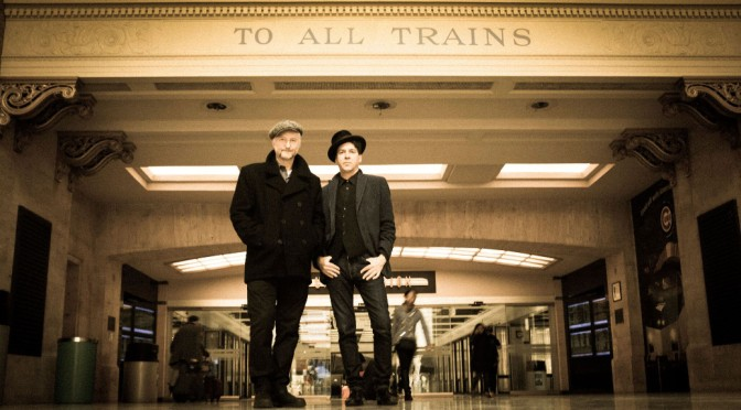Billy Bragg and Joe Henry: Waiting for a train