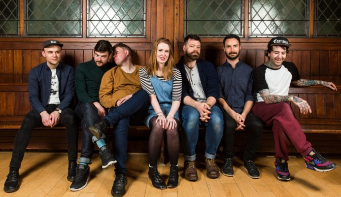 Los Campesinos! get intimate at Moth Club