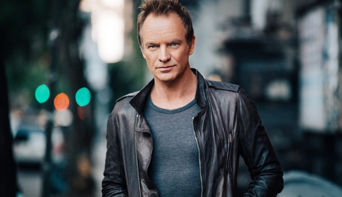 Sting crossing '57th and 9th' to Eventim Apollo