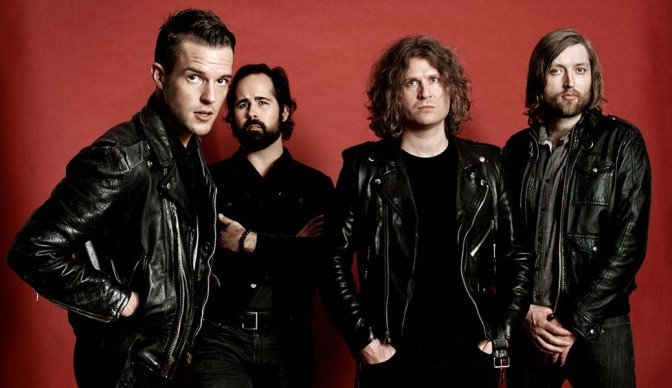 The Killers hitting Hyde Park