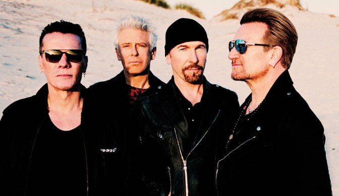 U2 planting 'The Joshua Tree' at Twickenham
