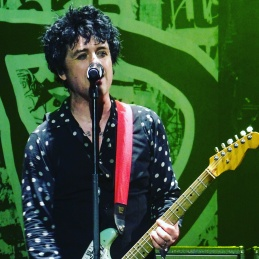 Billy Joe Armstrong of Green Day at The O2 in London