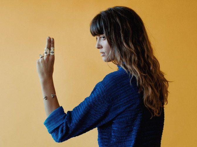 Noga Erez dancing to Corsica Studios